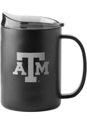 Texas A&M Aggies 15oz Ultra Powdercoat Mug Stainless Steel Tumbler - Black