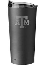 Texas A&M Aggies 20oz Black Powder Coat Stainless Steel Tumbler - Black