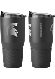 Michigan State Spartans 30oz Black Powder Coat Stainless Steel Tumbler - Black