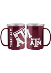 Texas A&M Aggies 15oz Hype Ultra Mug Stainless Steel Tumbler - Maroon
