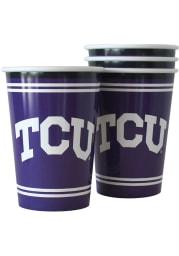 TCU Horned Frogs 20 oz Souvenir Cup 4 Pack Plastic Drinkware