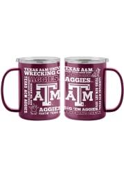 Texas A&M Aggies 15oz Spirit Ultra Mug Stainless Steel Tumbler - Maroon