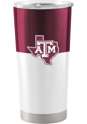 Texas A&M Aggies 20oz Colorblock Stainless Steel Tumbler - Maroon