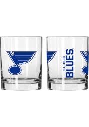 St Louis Blues 14 OZ Gameday Rock Glass