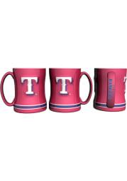 Texas Rangers 15 oz Sculpted Mug
