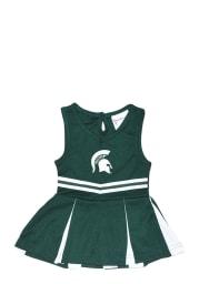 Michigan State Spartans Baby Green Logo Set Cheer