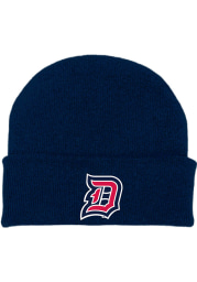 Duquesne Dukes Navy Blue Cuffed Newborn Knit Hat