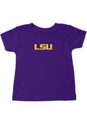 LSU Tigers Toddler Purple Logan Short Sleeve T-Shirt