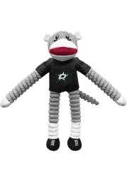 Dallas Stars Sock Monkey Pet Toy