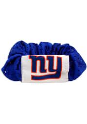 New York Giants Hair Twist Womens Hair Scrunchie