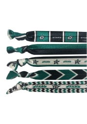 Dallas Stars Knotted Hair Tie Kids Hair Ribbons