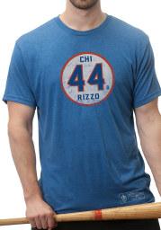 Anthony Rizzo Blue Circle Short Sleeve Player T Shirt