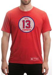 Matt Carpenter Red Circle Short Sleeve Player T Shirt