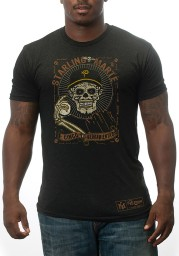 Starling Marte Pittsburgh Grey Day of the Dead Short Sleeve Player T Shirt