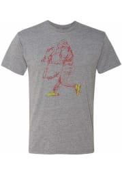 Bryce Harper # Philadelphia Phillies Grey 108 Stitches Sketch Short Sleeve Fashion T Shirt