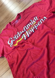 Paul Goldschmidt # St Louis Cardinals Red 108 Stitches Happens Short Sleeve Fashion T Shirt