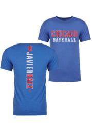 Javier Baez Chicago Blue Razorback Short Sleeve Fashion Player T Shirt