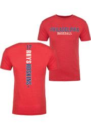 Rhys Hoskins Philadelphia Red Razorback Short Sleeve Fashion Player T Shirt