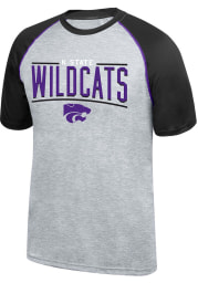 Top of the World K-State Wildcats Grey Elevate Tee Short Sleeve T Shirt