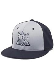 Columbia College Cougars Mens Grey Pro Model Flex Hat