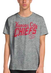 Junk Food Clothing Kansas City Chiefs Grey Kc Town Short Sleeve Fashion T Shirt