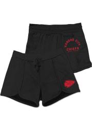 Junk Food Clothing Kansas City Chiefs Womens Black Scrimmage Shorts