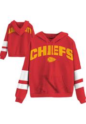 Junk Food Clothing Kansas City Chiefs Womens Red Sideline Hooded Sweatshirt