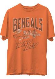 Junk Food Clothing Cincinnati Bengals Orange Hall Of Fame Short Sleeve Fashion T Shirt