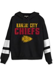 Junk Food Clothing Kansas City Chiefs Womens Black Sideline Hooded Sweatshirt