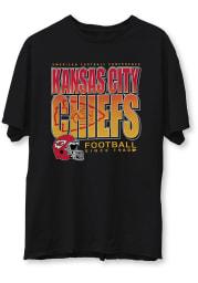 Junk Food Clothing Kansas City Chiefs Black Classic Short Sleeve Fashion T Shirt