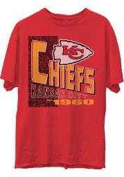 Junk Food Clothing Kansas City Chiefs Red Core Short Sleeve Fashion T Shirt