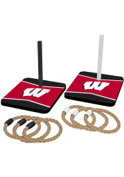 Wisconsin Badgers Quoit Ring Toss Tailgate Game