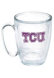 TCU Horned Frogs 15oz Clear Mug Travel Mug