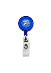 Oklahoma City Thunder Plastic Badge Holder