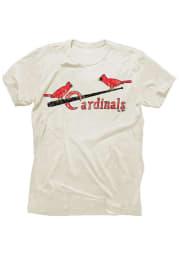 Stan Musial St Louis Cardinals Ivory Tri-Blend Short Sleeve Fashion Player T Shirt