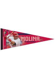St Louis Cardinals Yadier Molina 12x30 Premium Pennant
