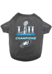 Philadelphia Eagles Super Bowl 52 Champions Pet T-Shirt