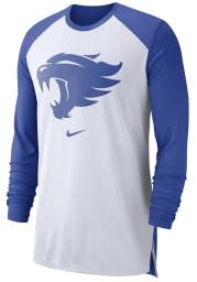 Nike Kentucky Wildcats White Elite Performance Long Sleeve T-Shirt