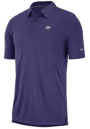 Nike K-State Wildcats Mens Purple Col M NK Polo Short Sleeve Polo