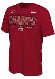 Nike Ohio State Buckeyes Red 2020 Sugar Bowl Champions Short Sleeve T Shirt