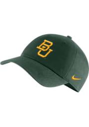 Nike Baylor Bears H86 Logo Adjustable Hat - Green