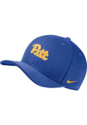 Nike Pitt Panthers Mens Blue Dri-Fit C99 Swooshflex Flex Hat