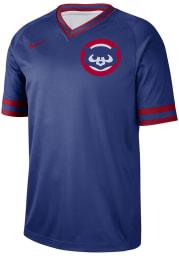 Chicago Cubs Nike V-Neck Legend Cooperstown Jersey - Blue