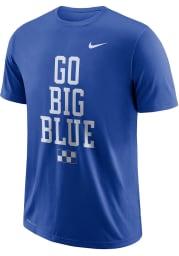 Nike Kentucky Wildcats Blue Local Short Sleeve T Shirt