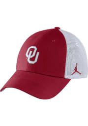Nike Oklahoma Sooners Jordan H86 Trucker Adjustable Hat - Crimson