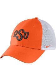 Nike Oklahoma State Cowboys Heritage 86 Trucker Adjustable Hat - Orange
