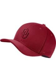 Nike Oklahoma Sooners Mens Crimson Dry C99 Swooshflex Flex Hat