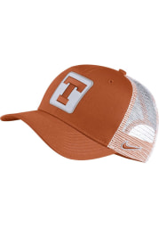 Nike Texas Longhorns C99 Trucker Adjustable Hat - Burnt Orange