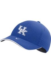 Nike Kentucky Wildcats Sideline Aero L91 Adjustable Hat - Blue