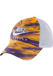 Nike LSU Tigers Spring Break Trucker Adjustable Hat - Purple